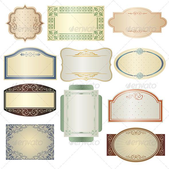 GraphicRiver Vintage Frames 6151063