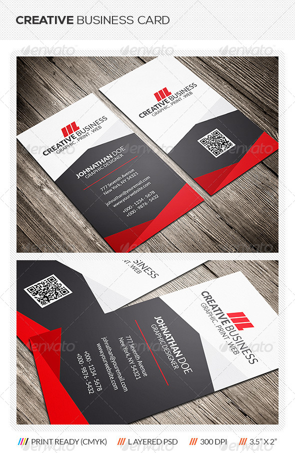 GraphicRiver Creative Corporate Business Card 6151087