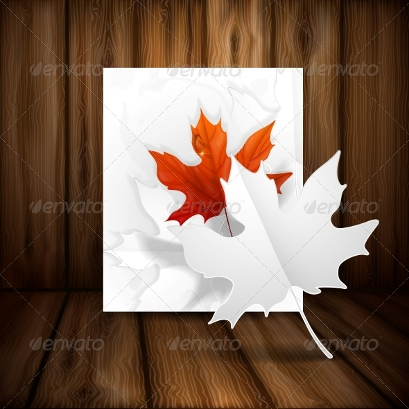 GraphicRiver Autumn Leaves Background 6152869