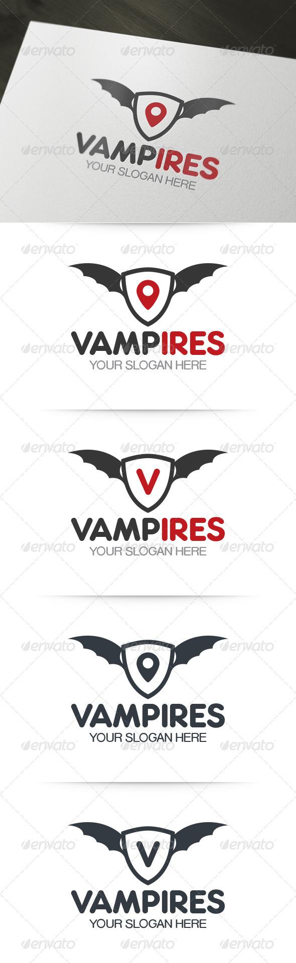 GraphicRiver Vampires Logo 6153766