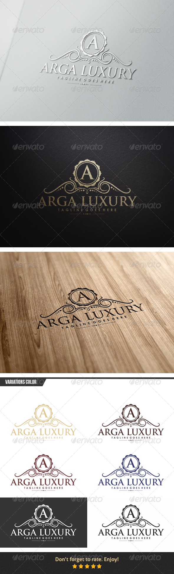 Arga Luxury Logo - Crests Logo Templates