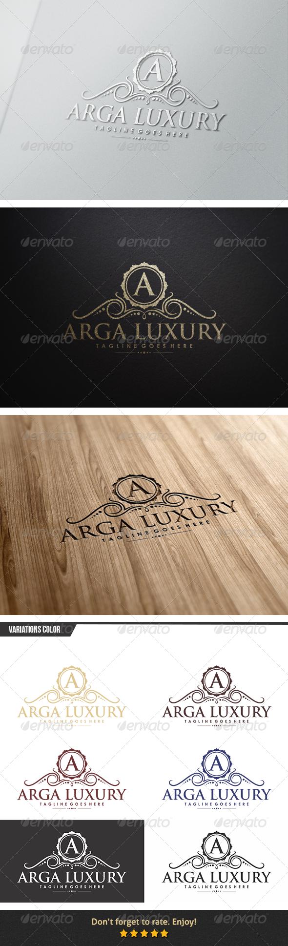 GraphicRiver Arga Luxury Logo 6153882