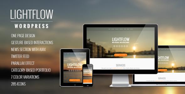 Lightflow - Creative One Page Multi-Purpose Theme