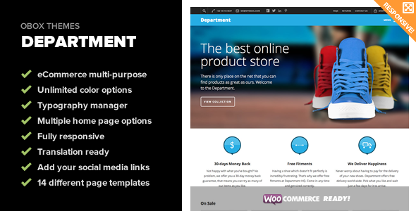 ThemeForest Department Multi-Purpose eCommerce Theme 6141646