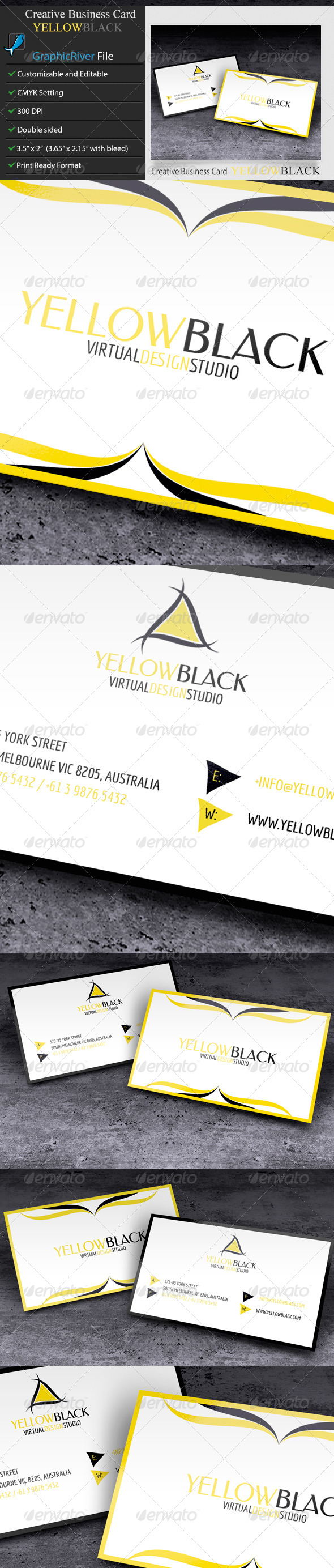 Creative or Corporate Business Card