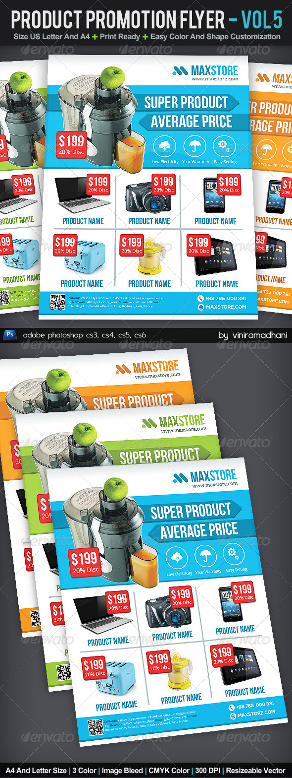 GraphicRiver Product Promotion Flyer Volume 5 6155670