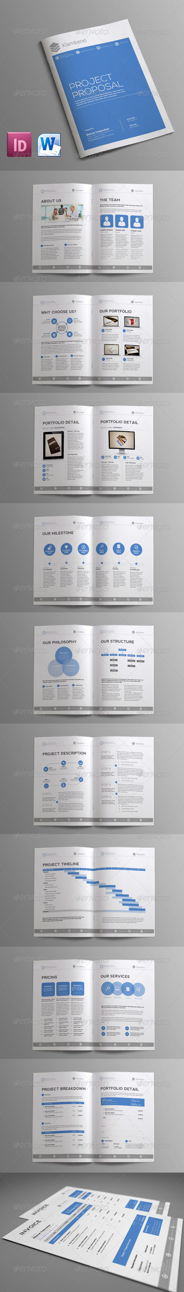 GraphicRiver Sleman Clean Proposal Template Volume 6 6155683