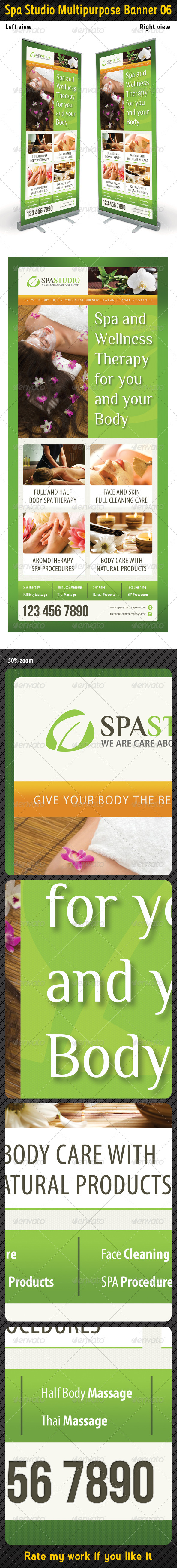 Spa Studio Multipurpose Banner 07