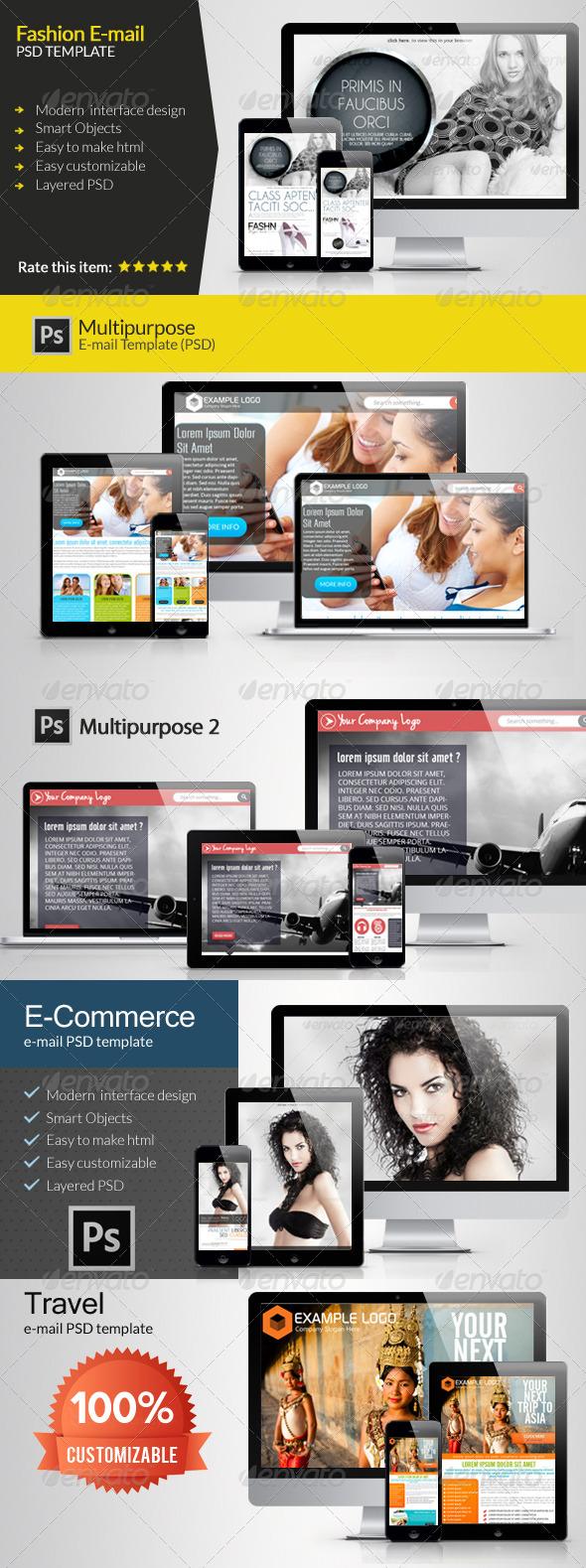 GraphicRiver E-Newsletter Bundle 6155887