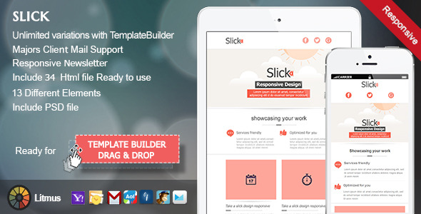 Slick-Responsive E-mail Template