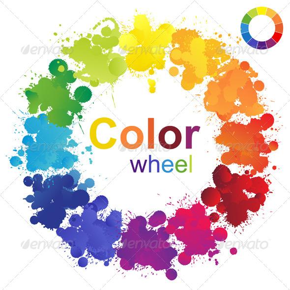 GraphicRiver Color Wheel 6155896