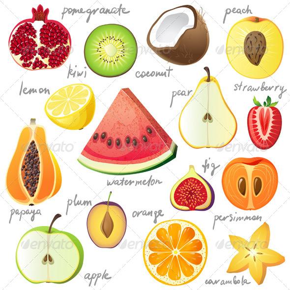 GraphicRiver Fruits 6155912
