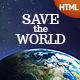Link toSavetheworld: responsive html theme for charity