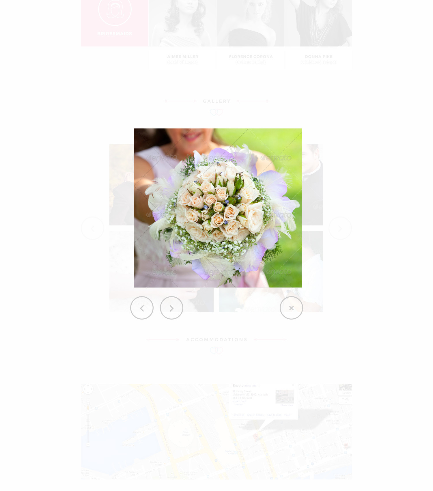 You and Me - Wedding PSD Template