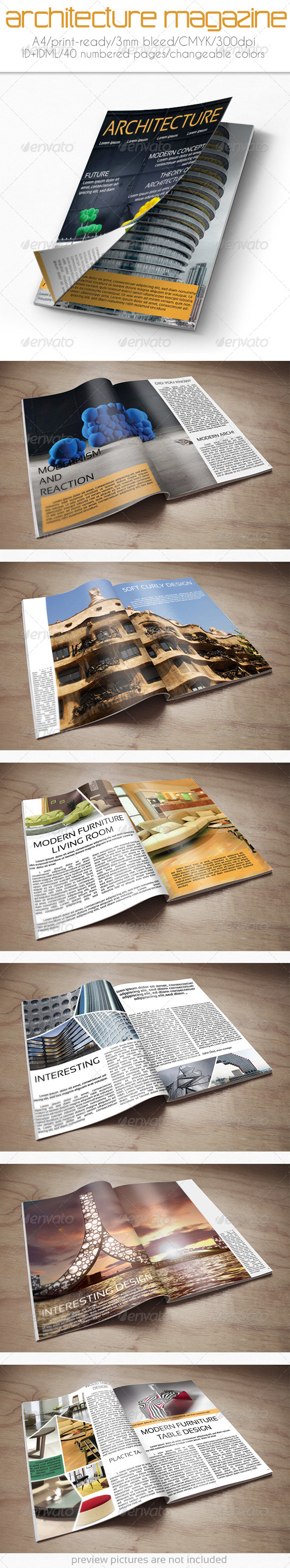 GraphicRiver Architecture Magazine 6139920