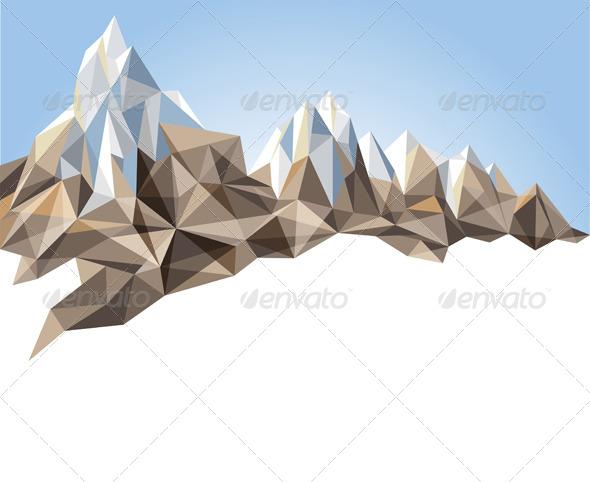 GraphicRiver Mountain Range 6156193