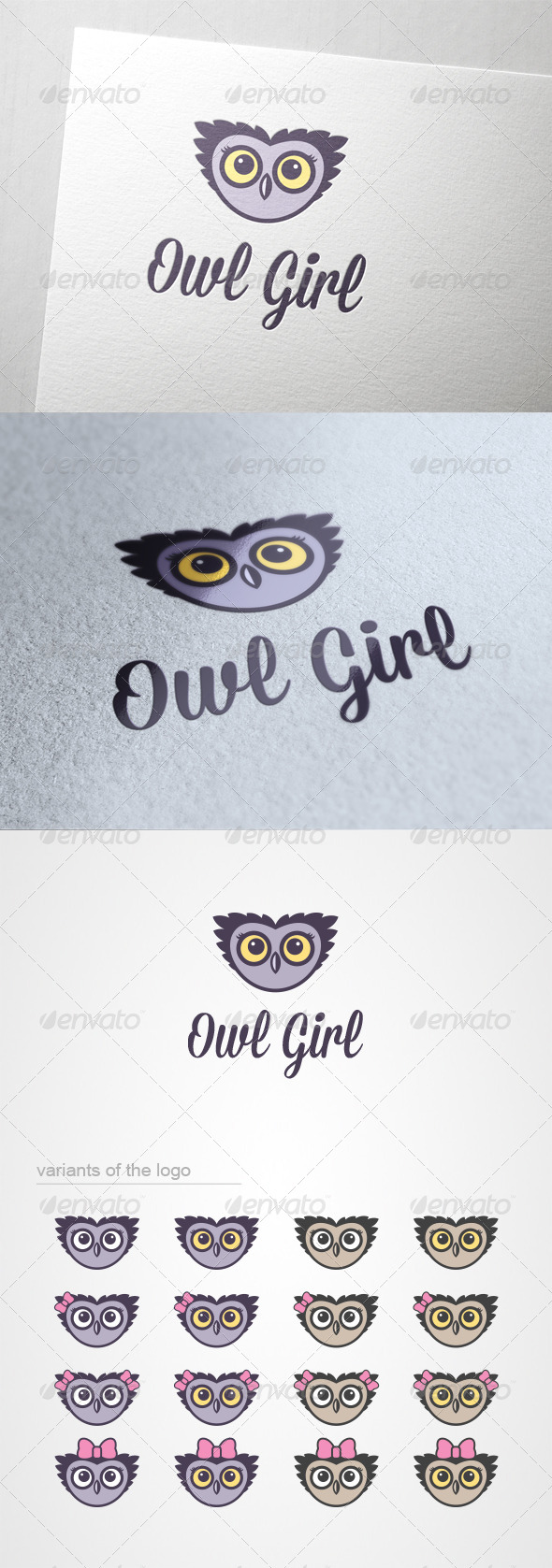 GraphicRiver Owl Girl 6156705