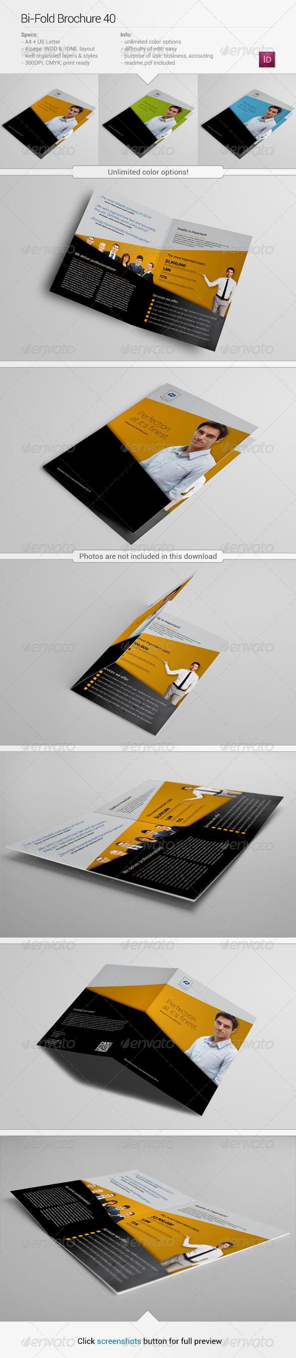 GraphicRiver Bi-Fold Brochure 40 6156917