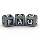 3D FAQ Cube Text - GraphicRiver Item for Sale