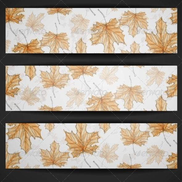 GraphicRiver Hand Drawn Autumn Background 6157777
