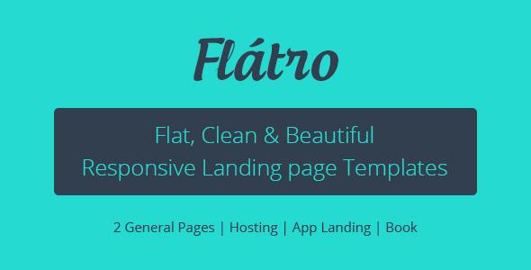 ThemeForest FlЁўtro Multipurpose Premium Landing Pages 5995706