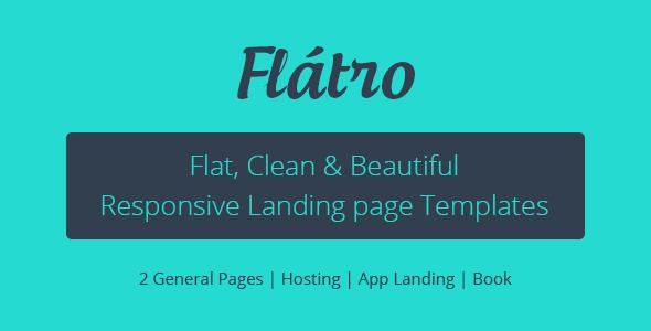 Flátro - Multipurpose Premium Landing Pages