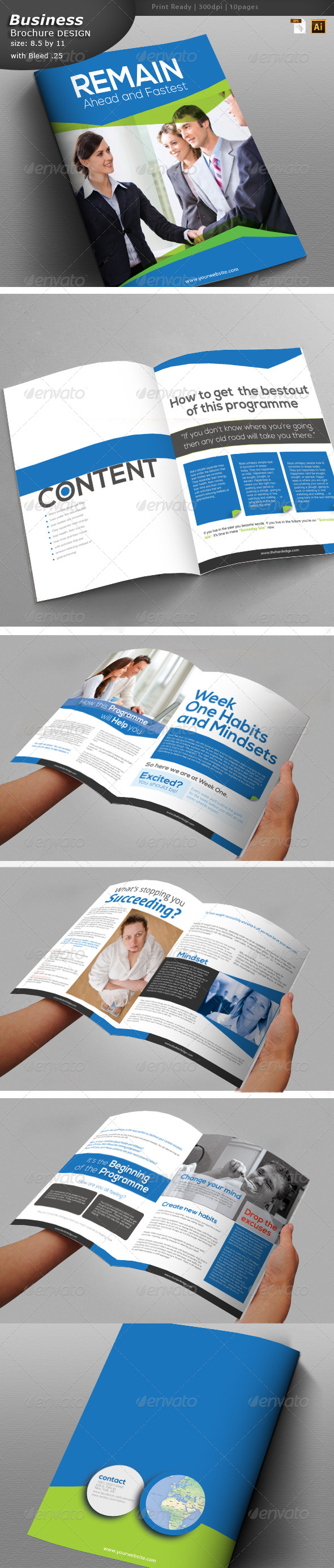 GraphicRiver Personality Building Brochure Design 6157897