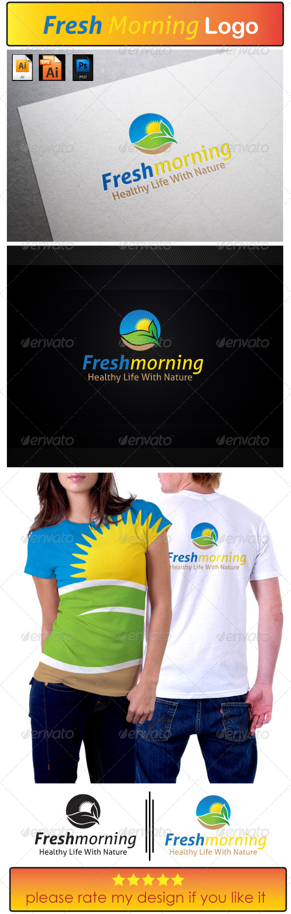GraphicRiver Fresh Morning 6158001