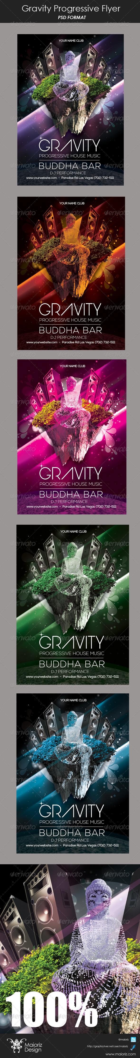 GraphicRiver Gravity Pregressive Flyer 6158084