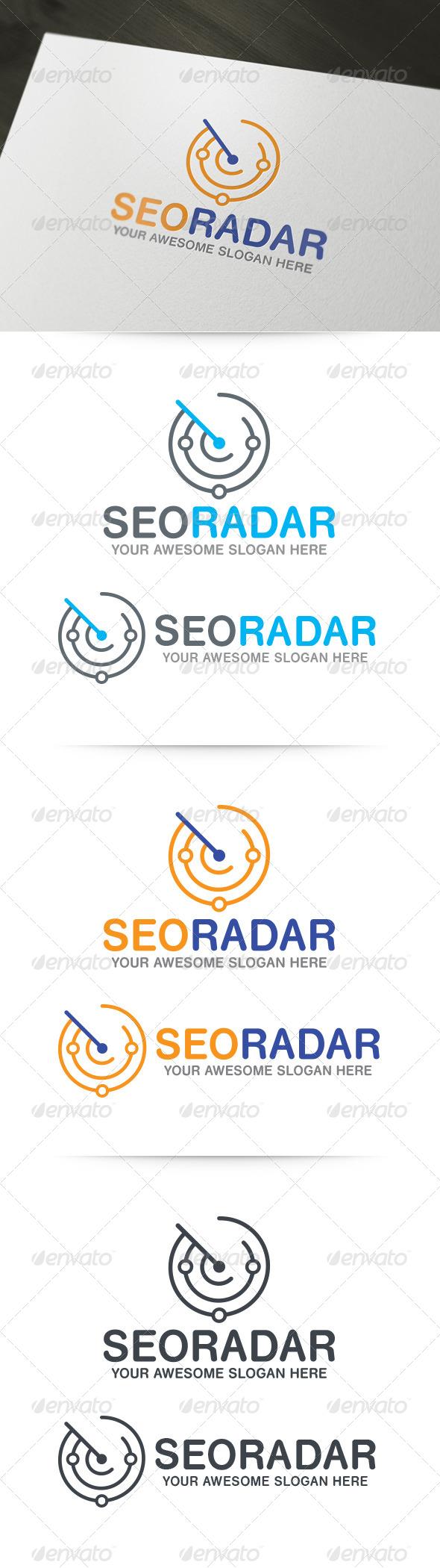 GraphicRiver SEO Radar Logo 6158088
