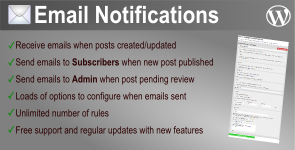 CodeCanyon New or Updated Post Notifications 6125829