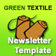 Green Textile Multipurpose Newsletter Template - GraphicRiver Item for Sale