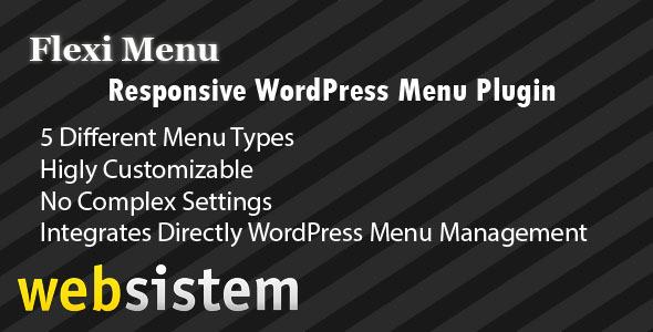 CodeCanyon Flexi Menu WordPress Plugin 5888718