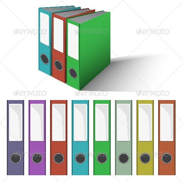 GraphicRiver Files and Folders Vector 6153627