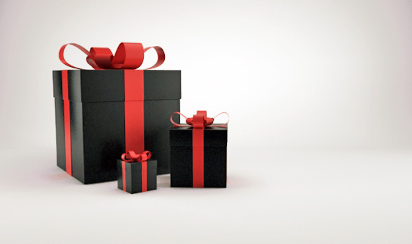 Christmas gift box presents V2 - 3DOcean Item for Sale