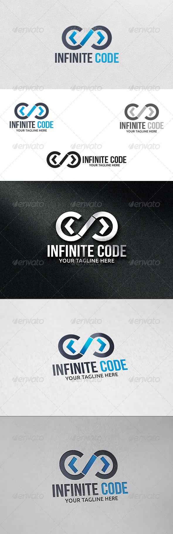 GraphicRiver Infinite Code Logo Template 6159540
