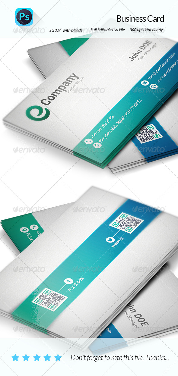 GraphicRiver Business Card 6159262