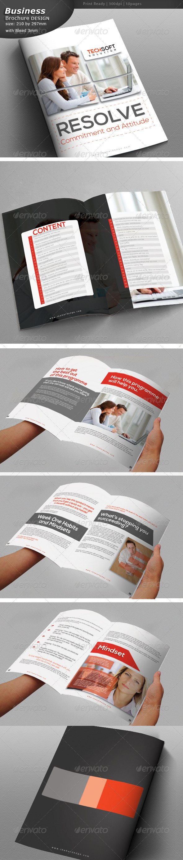 GraphicRiver Lawyer Brochure Design 6122301