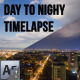Big City - Day to Night Time Lapse - VideoHive Item for Sale