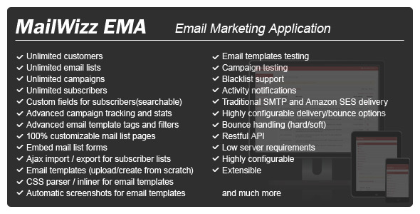 CodeCanyon MailWizz Email Marketing Application 6122150