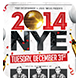 NYE Party 2 | Flyer + FB Cover - GraphicRiver Item for Sale