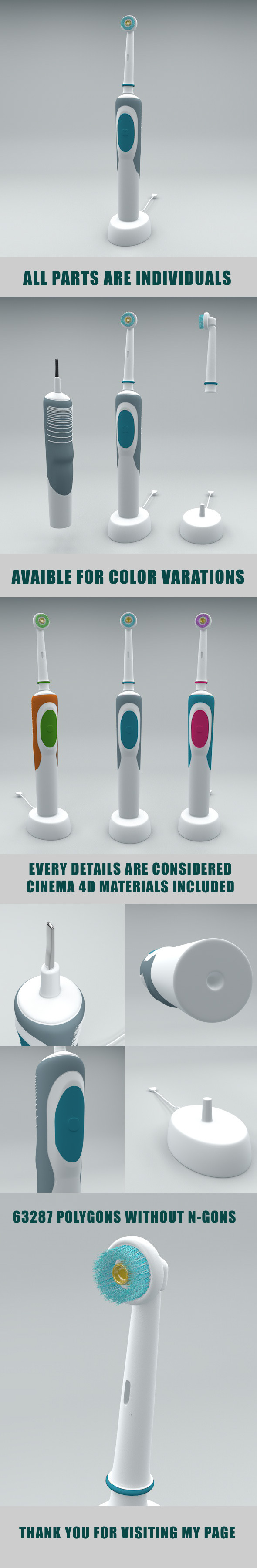 3DOcean Electrical Toothbrush 6160758