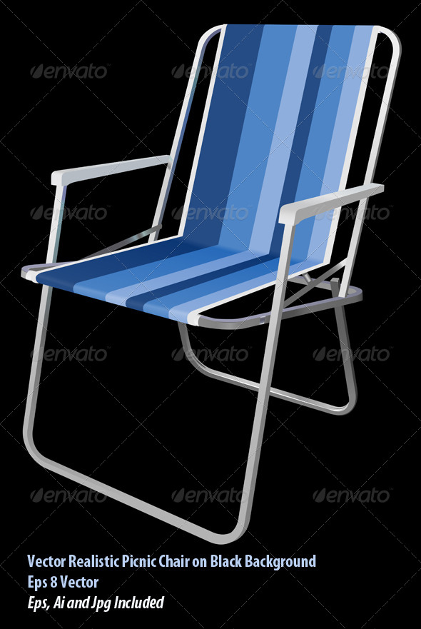 GraphicRiver Picnic Chair 6160784