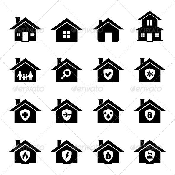 GraphicRiver House Icon 6160883