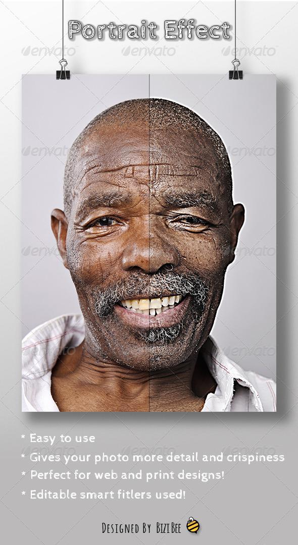 GraphicRiver Portrait Action 6160887