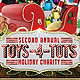 Toys 4 Tots Charity Flyer - GraphicRiver Item for Sale