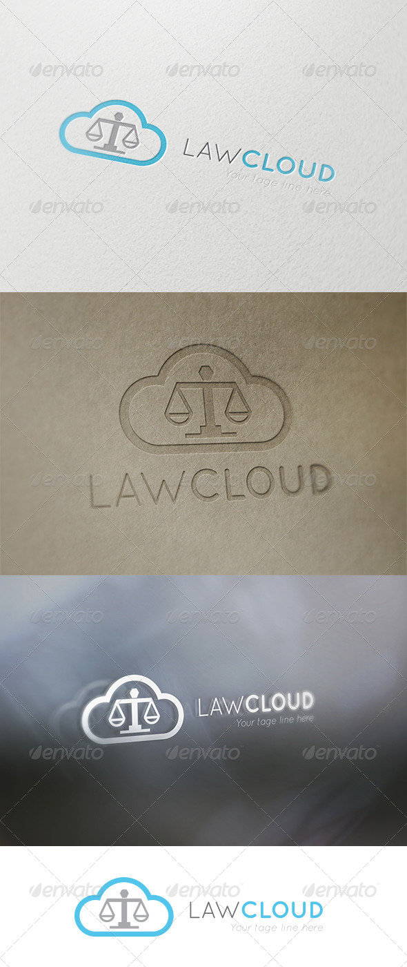 GraphicRiver Law Cloud 6161250