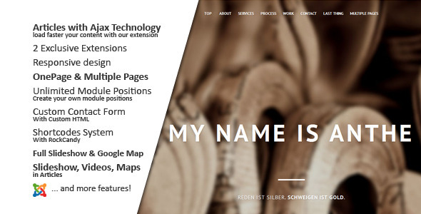 Anthe :: Joomla - Experimental Creative