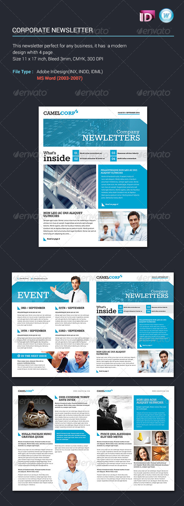 GraphicRiver Corporate Newsletter Vol1 6161396