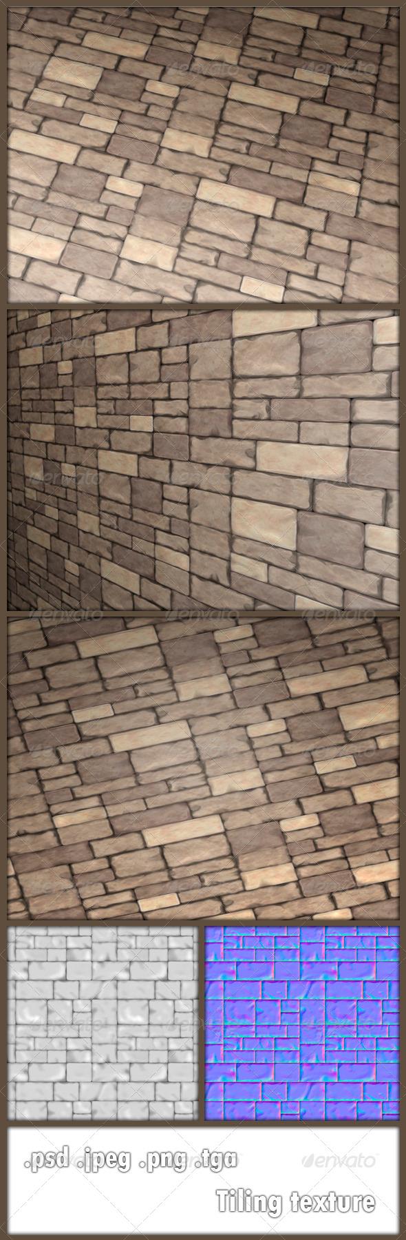 3DOcean Stone Tiling Texture 6161397